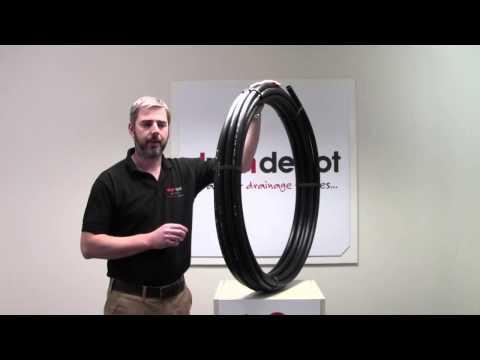25mm Black MDPE Water Pipe