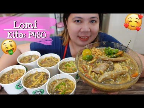 LOMI Recipe pang Negosyo with Costing