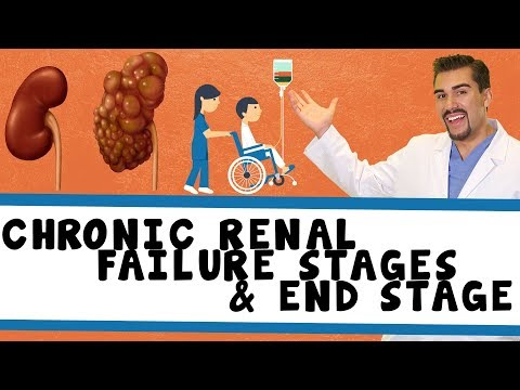 4 Stages *Part 1* of Chronic Renal Failure & ESRF