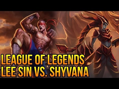 How to counter Shyvana with Lee