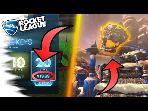 KEYS SECRET! - 5 Rocket League SECRETS, EASTER EGGS, & GLITCHES! (Turbo Crates, Facts, Ice Charger)