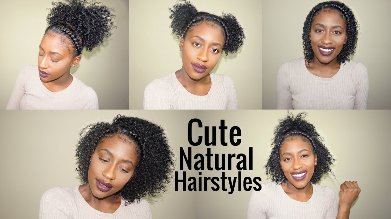 Two Braids Hairstyles For Short Medium Natural Curly Hair