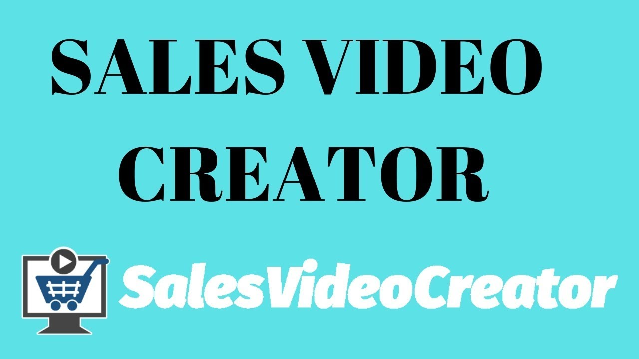 Sales Video Creator Demo Review - YouTube
