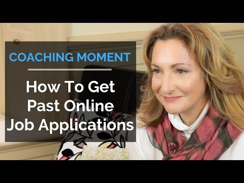 How To Get Past Online Job Applications - Coaching Moment