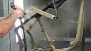 Окраска рамы байка 1 часть(, 2013-04-09T15:25:46.000Z)