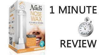 Nads Nose Hair Removal Review