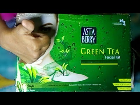 Astaberry Green Tea Facial Kit 6 Steps 570ml Unboxing 2019 | Box Unbox