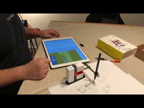 Line-us Robotic Drawing Arm Unboxing