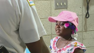 Girl, 6, Becomes Honorary Police Officer