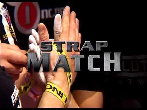 Arm Wars   Armwrestling   Devon Larratt (CAN) v Monster Michael Todd (USA) Left