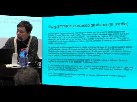 L'ITALIANO NEI LIBRI DI TESTO - Accademia dei Lincei e SNS - 03-02-2017