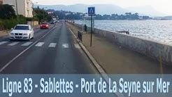 Ligne 83 - Sablettes - Port de La Seyne sur Mer