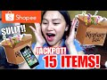 FINALLY!! SULIT NA SHOPEE MYSTERY BOX!! | Xy Castillo