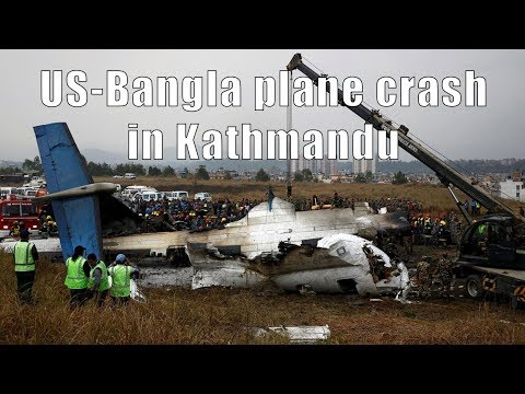 US-Bangla plane crash in Kathmandu