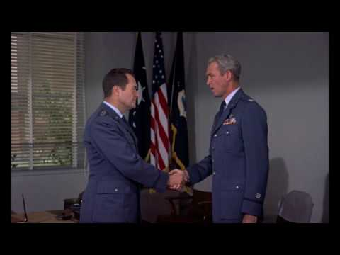 Strategic Air Command Movie - Opening (B-36) and Final Scenes (B-47)