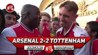Arsenal 2-2 Tottenham  | Lacazette Is A Game Player!