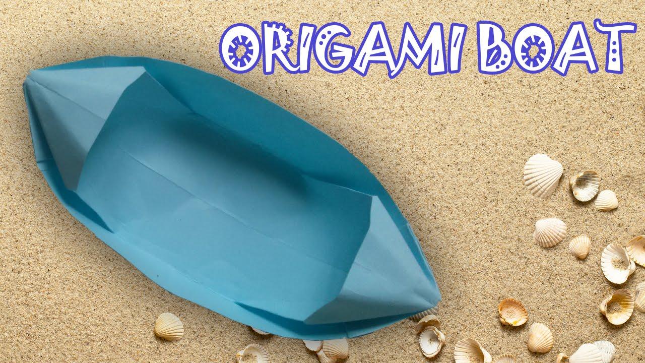 origami boat instructions origami easy youtube