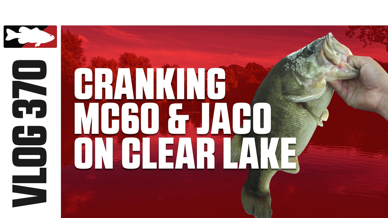 Jared Lintner and Alex Davis Fishing Crankbaits on Clear Lake - TW VLOG #370