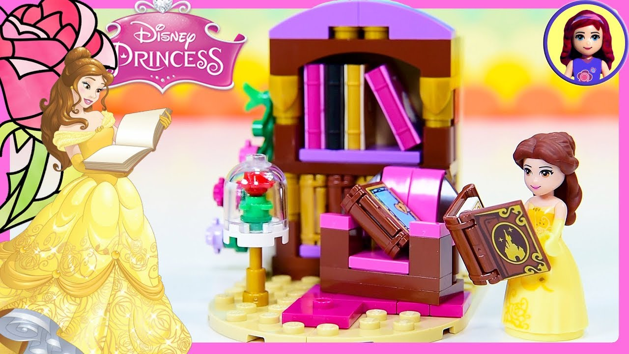 Belle Beauty The Beast Tiny Diorama Diy Custom Build Disney