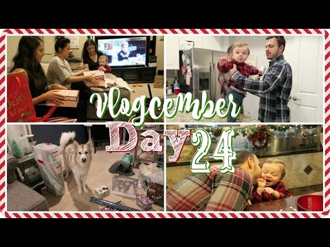 Christmas Eve🎄 Vlogcember Day 24, 2017