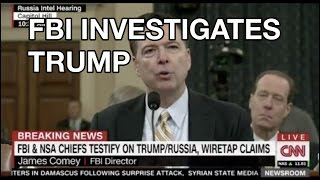 Comey Hearing HIGHLIGHTS 2017: FBI Investigates Donald Trump Twitter Russia Ties, House of Congress