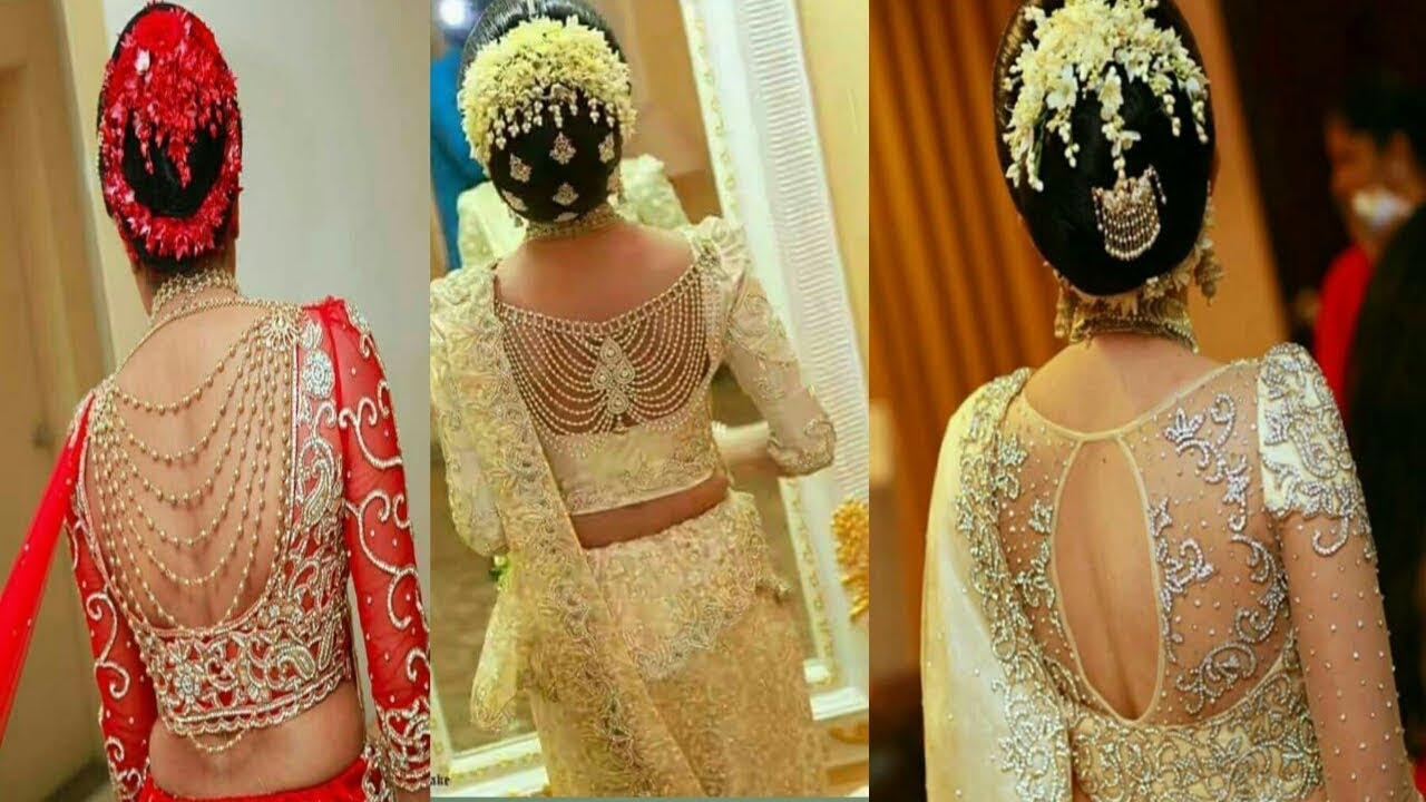Gorgeous Srilankan Bridal Blouse Latest Fashion Bridal