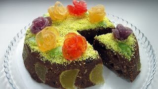 Торт без выпечки за 10 минут / Очень простой и вкусный торт из печенья / Пошаговый рецепт