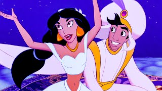 A Whole New World Song Scene - ALADDIN (1992) Movie Clip