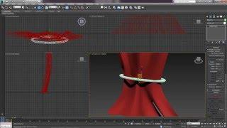 3D Max. Урок №18. NURBS кривые. Создание штор.