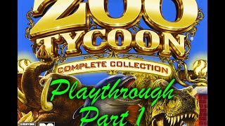 Zoo Tycoon Complete Collection playthrough part 1