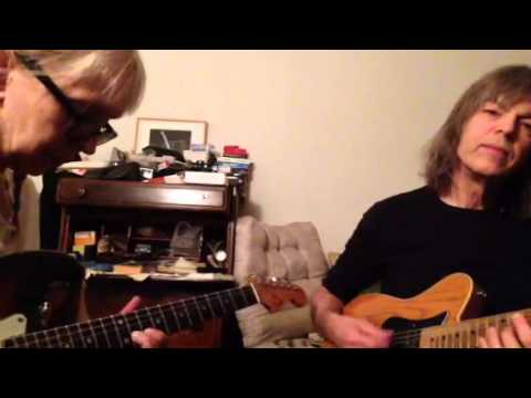 Leni Stern and Mike Stern : practicing guitar at home