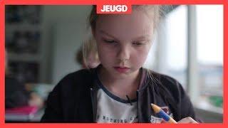 Fleur kreeg al op haar negende een burn-out