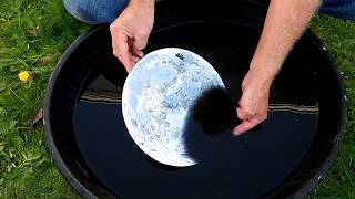 Moon Phases Experiment, flat earth.
