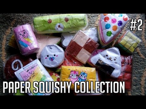 Paper Squishy Collection 2019 #2