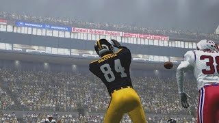 ANTONIO BROWN CAN'T BE STOPPED IN ESPN NFL 2K5 - Steelers vs Patriots
