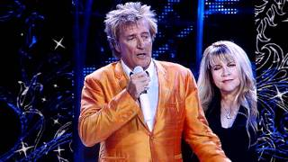 Stevie Nicks and Rod Stewart perform Leather & Lace, Phoenix, April 2011