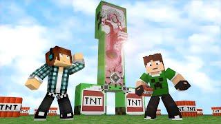 Minecraft : DENTRO DE UM CREEPER ( Fuja da TNT Minecraft )