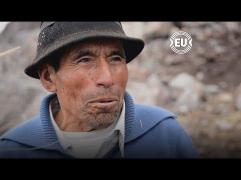 El último hielero del Chimborazo recibe doctorado 'Honoris Causa'