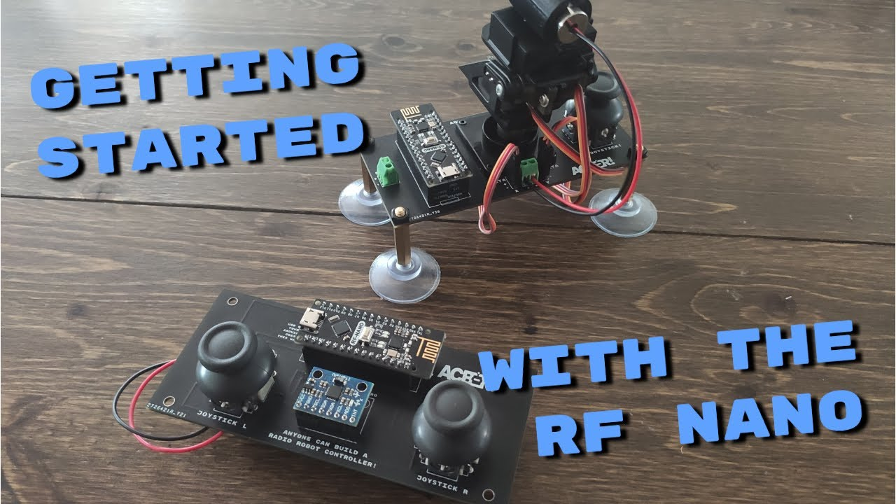 Getting started with the ACBR Wireless Controller Kit!