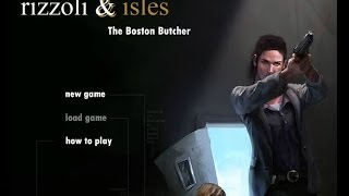 Criminal Investigation Games -  Rizzoli & Isles:  The Boston Butcher