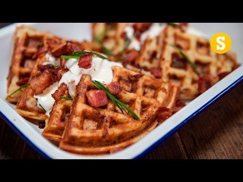 Homemade Potato Waffle Recipe