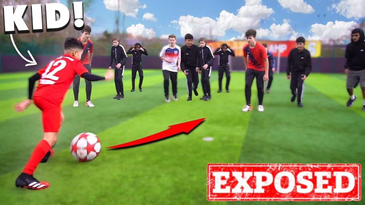 I Challenged KID RONALDO To A CRAZY Football Competition!