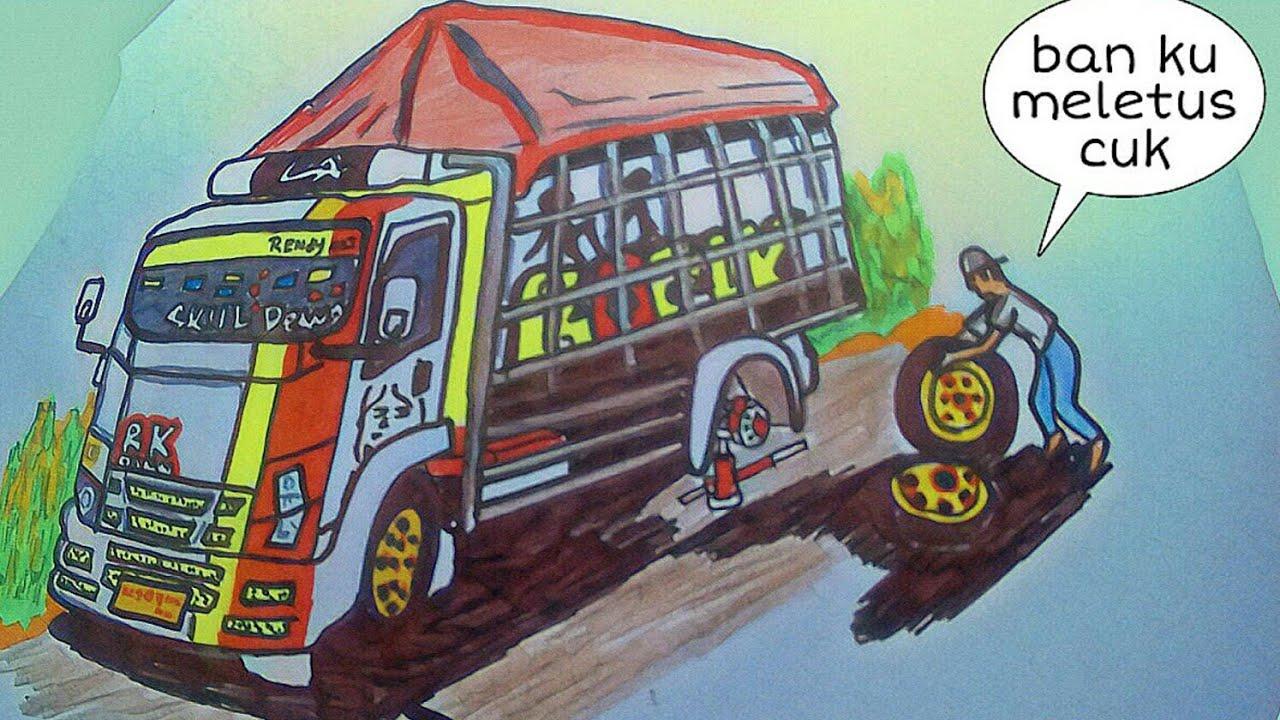 680 Koleksi Download Mod Bussid Mobil Oleng Gratis Terbaru