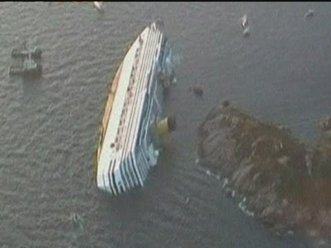 Costa Concordia: First pics of capsized cruise ship in Italy