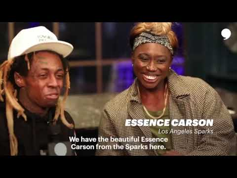 Lil Wayne Interviews Al Harrington, Stephen Jackson, Essence Carson & Alvin Kamara