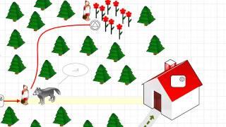 Microsoft Visio- сказка о Красной Шапочке.mp4