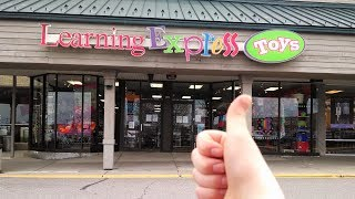 Learning Express Rainbow Loom and Toys Shopping vlog