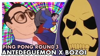 YTPBR PING PONG: Antedeguemon As ✘ Bozoi - Super Homi Guei [Round 3]