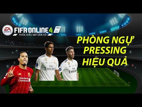 THÀNH HÒA | FIFA ONLINE 4 CÁCH PHÒNG NGỰ | PRESSING NHƯ THẾ NÀO?