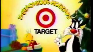 Target ad, Sylvester and Tweety Xmas, 1990s